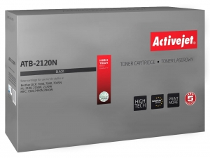ActiveJet ATB-2120N toner do drukarki Brother (zamiennik TN2120, TN2110) HL2140 DCP7030 7040 MFC7320 - Czarny (Black)