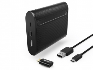 POWER BANK BATERIA ZEWN. HAMA X10 10400mAh POJEMNY