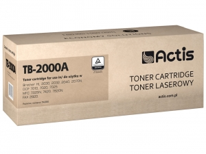 Actis TB-2000A toner do drukarki Brother (zamiennik TN-2000) HL2030 HL2032 HL2035 - Czarny (Black)