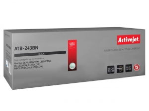 Activejet ATB-243BN toner do drukarki Brother (zamiennik TN-243BK) DCP-L3510CDW HL-L3210CW - Czarny (Black)