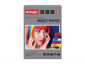 Papier Fotograficzny Matowy Activejet AP4-105M100
