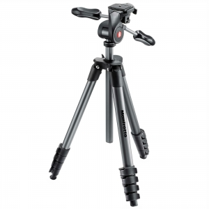Statyw Manfrotto Compact Advanced 5 SEKC. z głowicą 3D