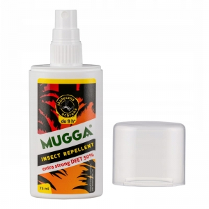 Mugga Spray STRONG 50% DEET na komary i kleszcze 75 ml