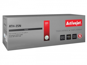 ActiveJet AT-35N toner do drukarki HP (zamiennik nr HP 35A CB435A)  P1005 P1006 LBP3010 - Czarny (Black)