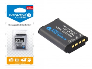 Bateria everActive NP-BX1 do Sony DSC-RX100 HDR-AS10 [1150 mAh]