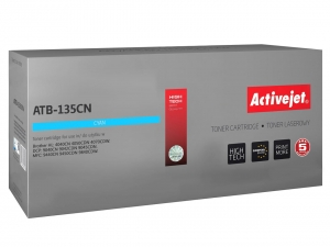 ActiveJet ATB-135CN toner do drukarki Brother (zamiennik TN-135CN) DCP-9040 9042 - Niebieski (Cyan)