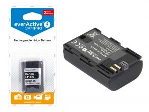 Bateria everActive LP-E6 do Canon CamPro [1600 mAh]