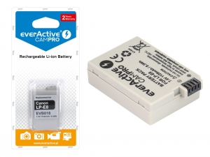 Bateria everActive LP-E8 do Canon CamPro [1120 mAh]