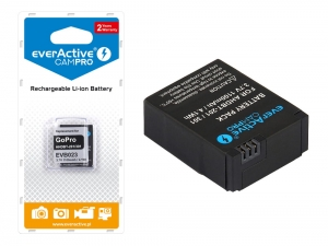 Bateria everActive AHDBT-301 do GoPro Hero 3/ 3+/  [1100 mAh]